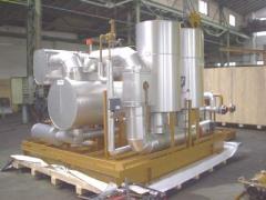 Separator boiler superheater electric SPPE