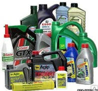 Масла автомобильные и другие гсм материалы для