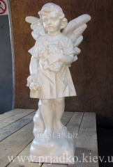 Angel of decorative concrete