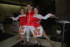 """Dancing suits in"""" the Ukrainian"""