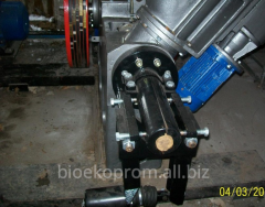 Press shock and mechanical for briquettes (Poland). The PRESS FOR BRIQUETTING