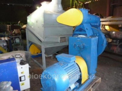Granulator sawdust. Equipment for the production