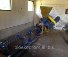 Equipment for the production of biofuels from biomass