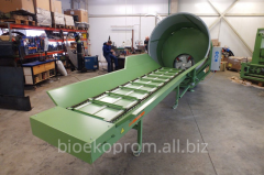Schröder for crushing of straw/hay pressed in