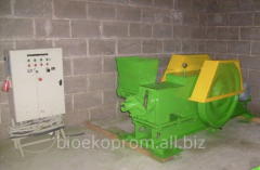 Press for production of fuel briquettes VT-60