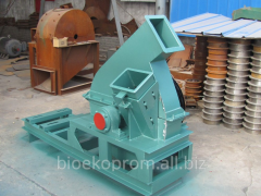 Grinder for branches, a rotor crusher