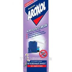 Aroxol aerosol from a moth, 300 ml