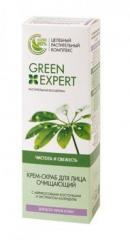 Cream - Green Expert face scrub clearing all-type