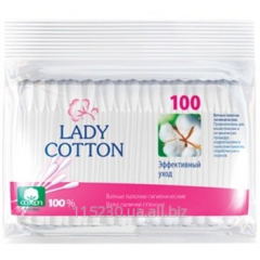 Lady Cotton Q-tips of 100 pieces