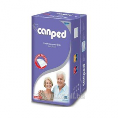 Canped diapers hygienic 80kh180sm, 10 pieces