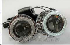 Lenses of 2 pieces with PJT 88 H4/6000K dimension
