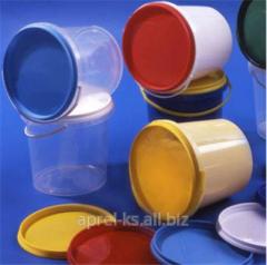 The bucket is polypropylene, 1,0 l