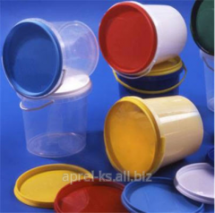 The bucket is polypropylene round, 1,0 l