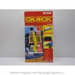 Glue epoxy ALTECO of black 4 min.