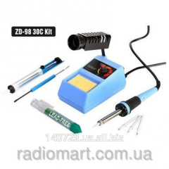 Set for the soldering with soldering station