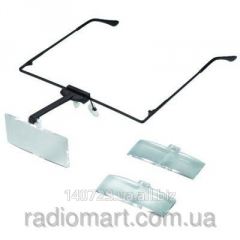 Points with replaceable MG19157 1,5X glasses,