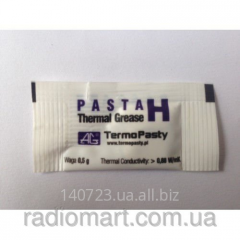 Heat-conducting paste on H 0.5 silicone of