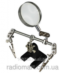 The third hand with MG16128 magnifying glass,