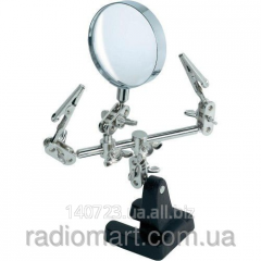 The third hand with ZD-10D magnifying glass,