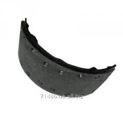 Framework of brake shoes