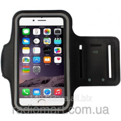 Cover holder on Black hand for iPhone 6