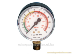 Fuel MD-218 manometer ksg/cm2