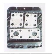 Nozzles on J–703 Chrome pedal