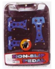 Nozzles on XB389 pedal
