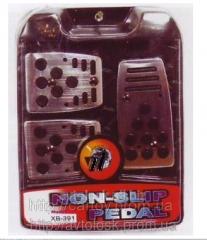 Nozzles on XB–391 pedal