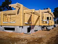 Брус клееный стеновой для домов - 260*180