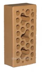 Лицевой керамический кирпич Персиковый