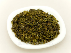 Paprika green pieces