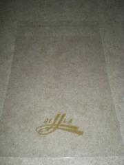 Полипропиленовые пакеты с клеящим слоем и печатью