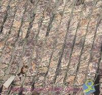 Сетка маскировочная цвет: камыш, покрой:полосы