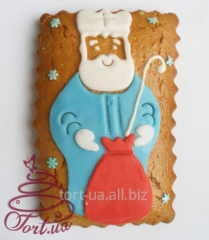 Gingerbread - a card by Day of St. Nikolay