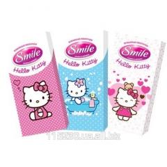 Kerchiefs Paper Smile Hello Kitty standard, 10