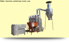 Сушилка аэродинамическая для стружки САД - 0.6 - 1.2
