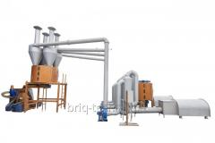 Dryers of bulk materials