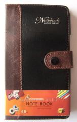 Блокнот-алфавитка 5713-48К,кнопка,ручка