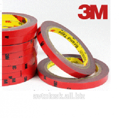 Bilateral adhesive tape of 3M 2 m, 10 mm