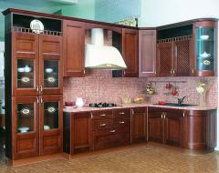 Мебель для кухни из дарева