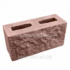 Decorative block brown