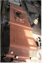 Изготовление деталей и запасных частей котельного