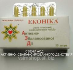 Candle ASD 2f according to Dorogov's recipe