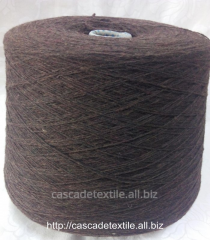 Bi-fiber Italian yarn of Folcon choc