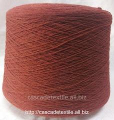 Bi-fiber Italian yarn of Folcon paprika