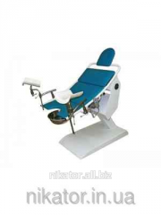 Chair gynecologic with the KG-3E electric drive