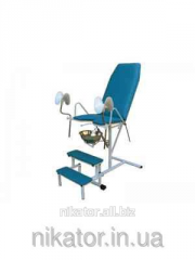 Кресло гинекологическое с пневмоприводом Завет КГ-1М