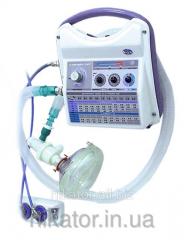 Аппарат электронный для службы скорой медицинской помощи портативный А-ИВЛ-ВВЛ