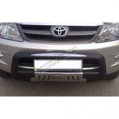 Protection of a front bumper, sale of protection